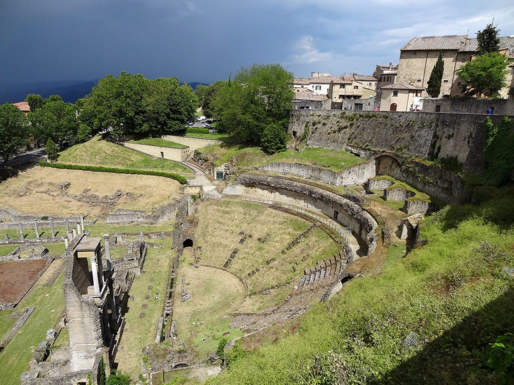 Anfiteatro di Volterra